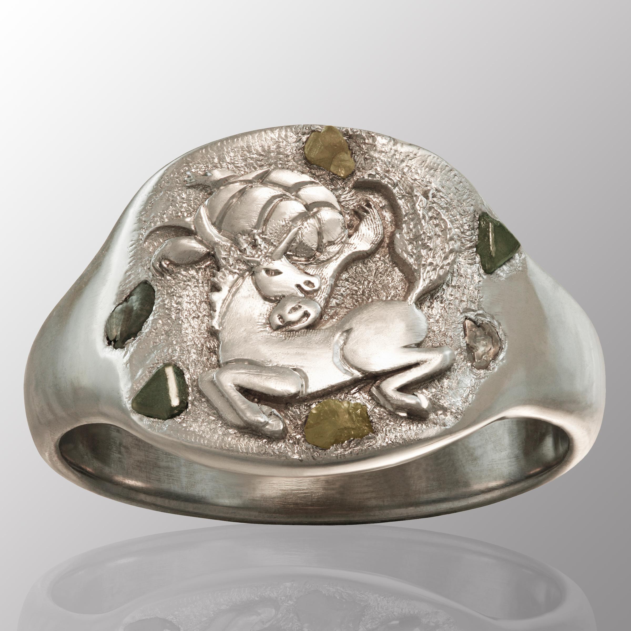 turtle wedding ring
